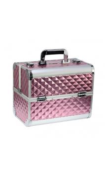 Кейс для косметики розовый 3D