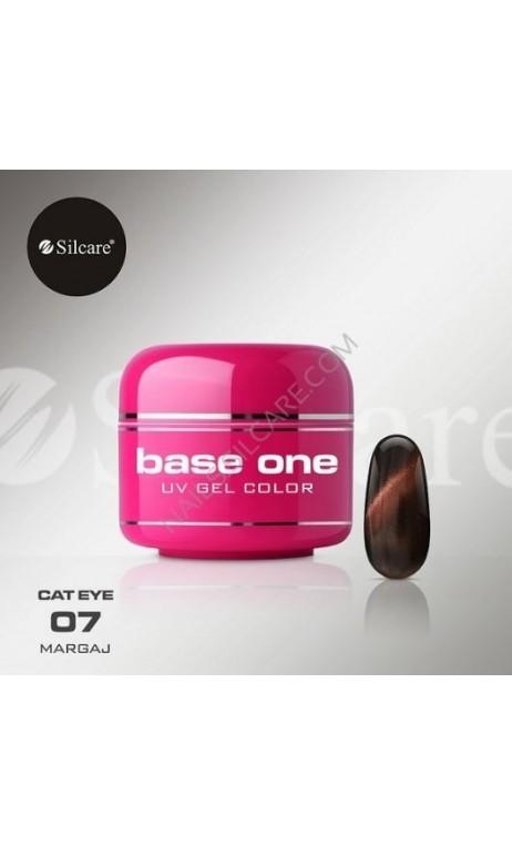Krāsainais gēls Silcare kaķu acs 5g 07