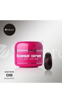 Цветной гель Silcare кошачий глаз 5 г 08
