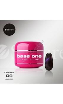 Цветной гель Silcare кошачий глаз 5 г 09