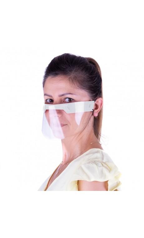 Aizsargājoša sejas maska plastmasa mini