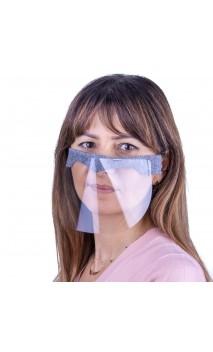 Защитная маска для лица пластиковая мини2